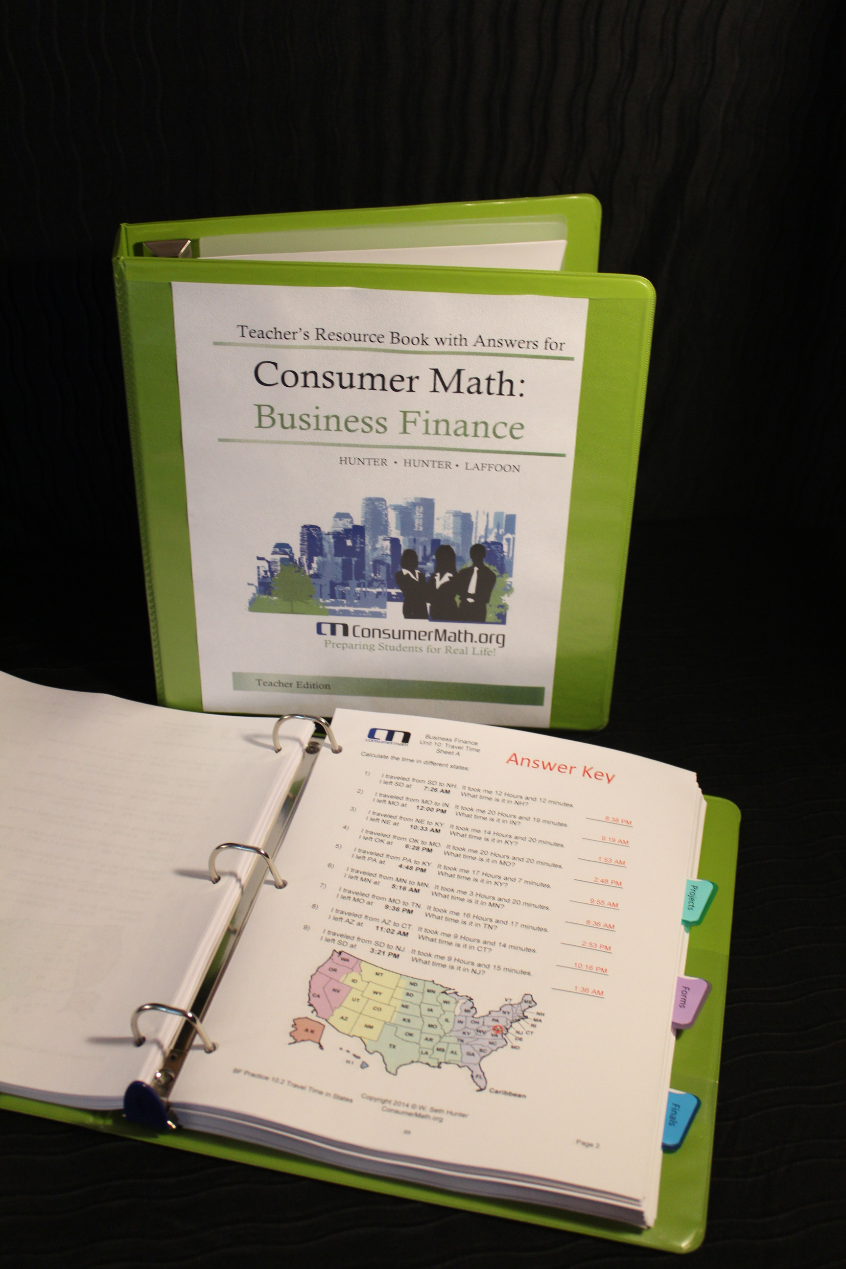 Teacher\'s Resource Manual: Business Finance | ConsumerMath.org