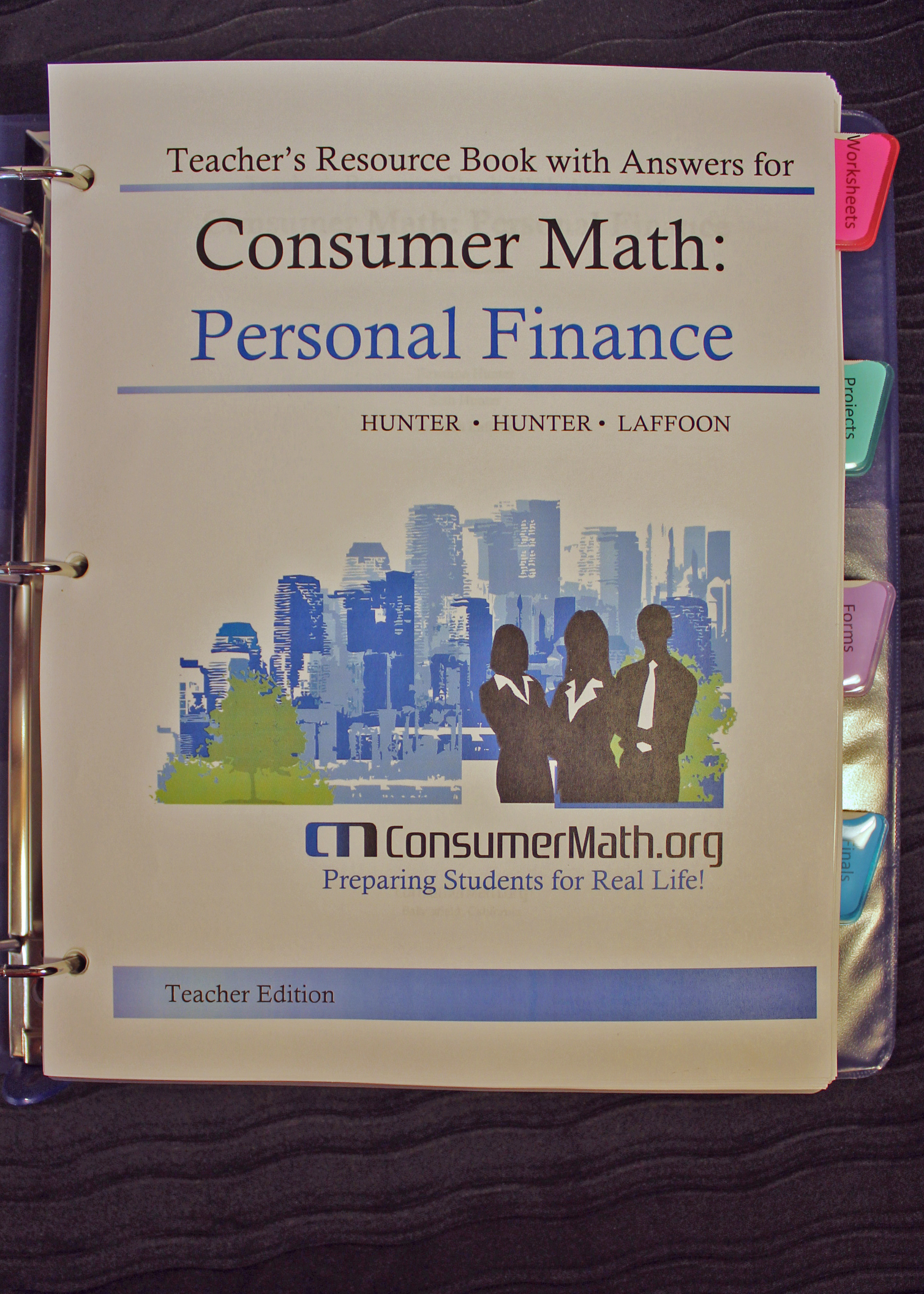 Teacher\'s Resource Manual: Personal Finance- 2015 | ConsumerMath.org